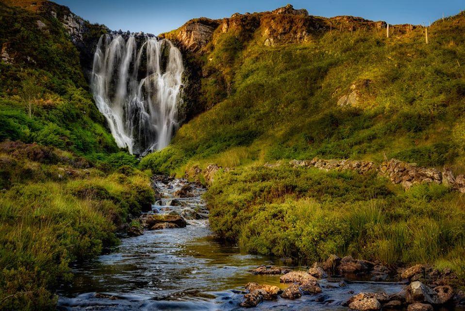 Clashnessie waterfalls